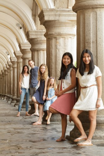 Family Photo Sessions in Antigua Guatemala with photographer Rudy Giron