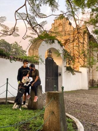 ADP — Walking the dog at Alameda Santa Rosa