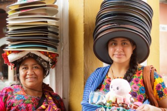 The Mayan Mad Hatters of Antigua Guatemala by Rudy Giron