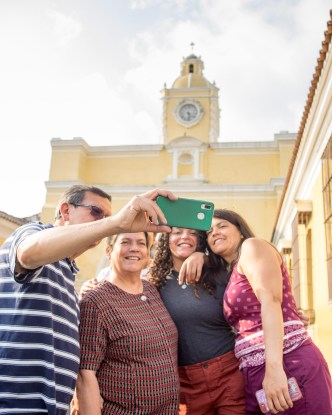 Another Portrait of a Selfie in Antigua Guatemala