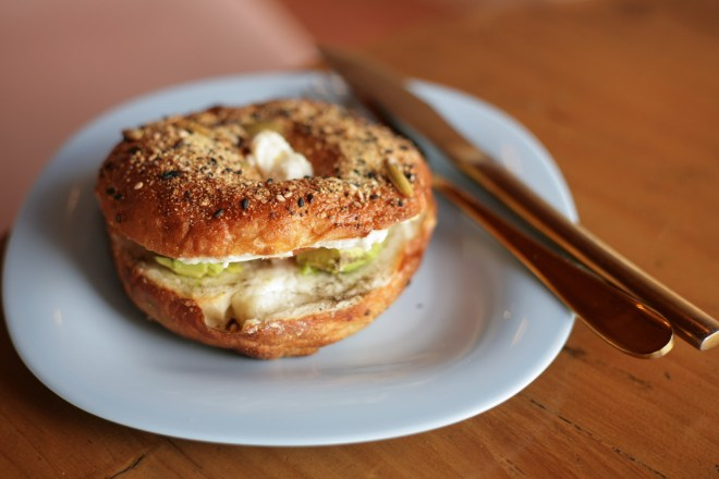 Antigua Daily Photo Foodie Friday's — Bagel at Artista de Caf