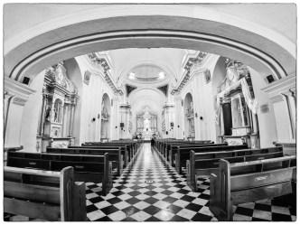 PHOTO STOCK: Fisheye Vista of Parroquia Escuela de Cristo