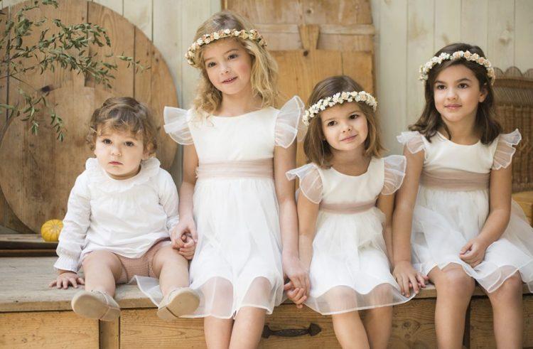 Moda infantil para bodas, las tendencias en ropa infantil para bodas |