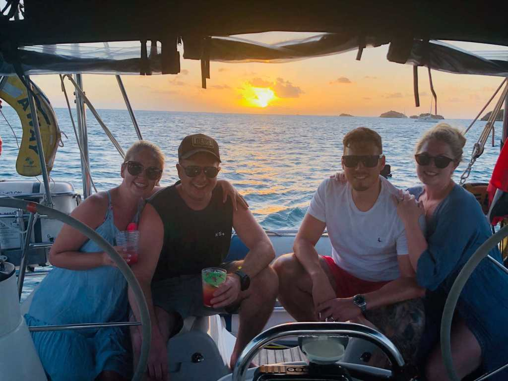 Sunset Cruise Carried Away Boat trips Antigua