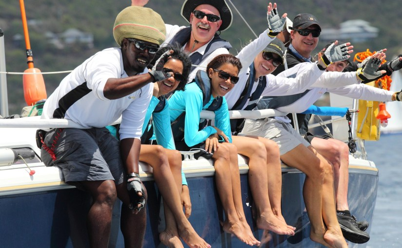 Race in the Caribbean Regattas 2015 .. just an email or phone call away