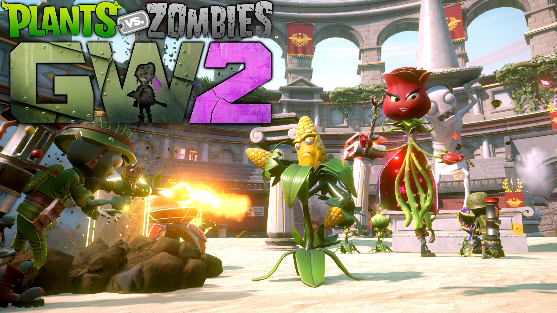 Plants vs Zombies Garden Warfare 2  Primeras