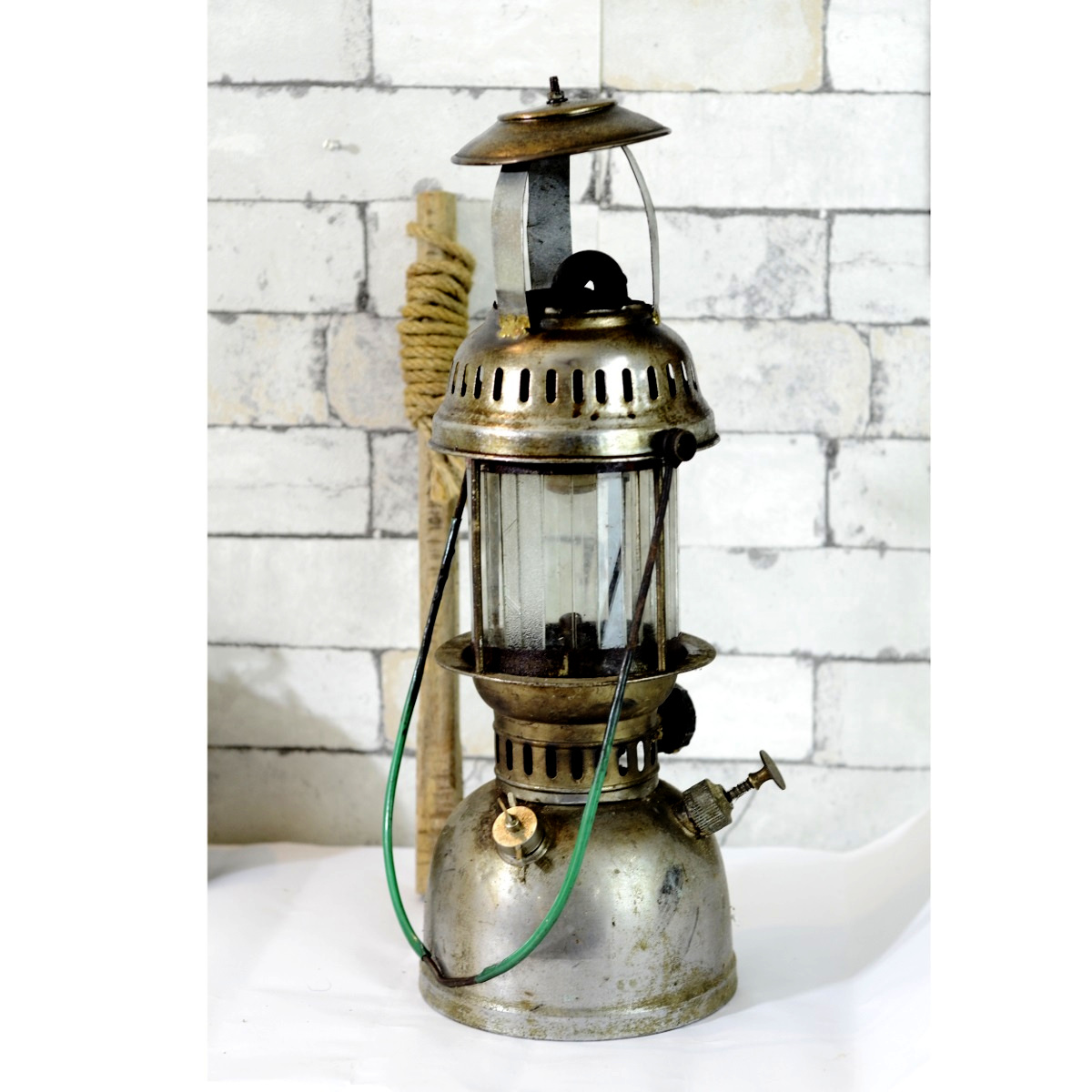 Exclusive Antique Petromax Rolex Brass Lantern  Antikcart