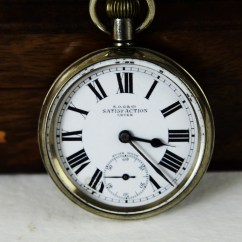 Antique Wooden Chairs Pictures John Stuart Swiss Made Satisfaction Pocket Watch - Antikcart