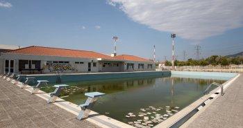 Πισίνα προετοιμασίας στο Ολυμπιακό Κέντρο Υγρού Στίβου