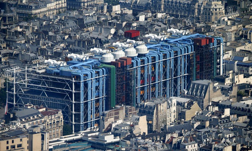 Το μουσείο σύγχρονης τέχνης στο Παρίσι.