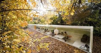 Χώρος εργασίας σχεδιασμένος από τον Ισπανό αρχιτέκτονα Selgas Cano.