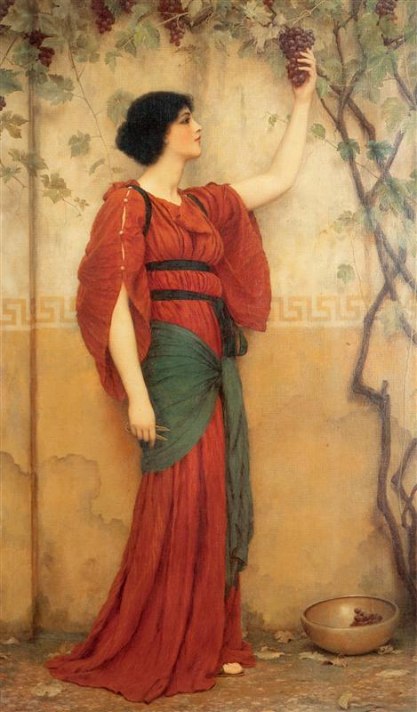 Φθινόπωρο - John William Godward 1900