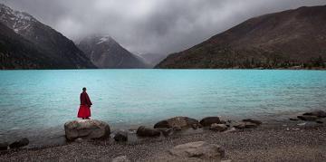 Αποτέλεσμα εικόνας για Ο Δάσκαλος, ο μαθητής, και η λίμνη...