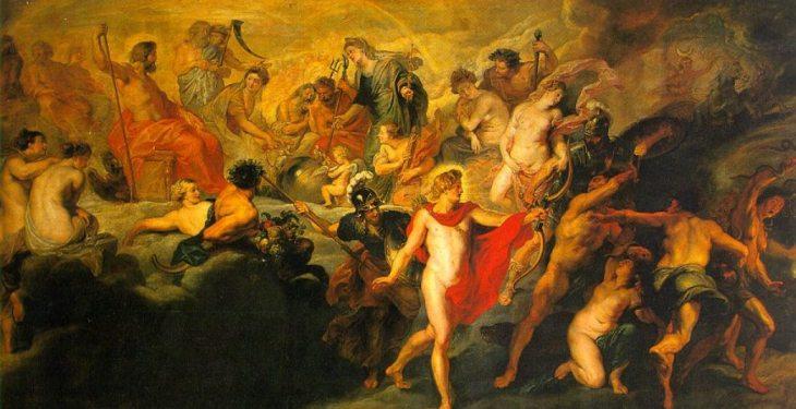 Peter Paul Rubens. - το συμβούλιο των θεών