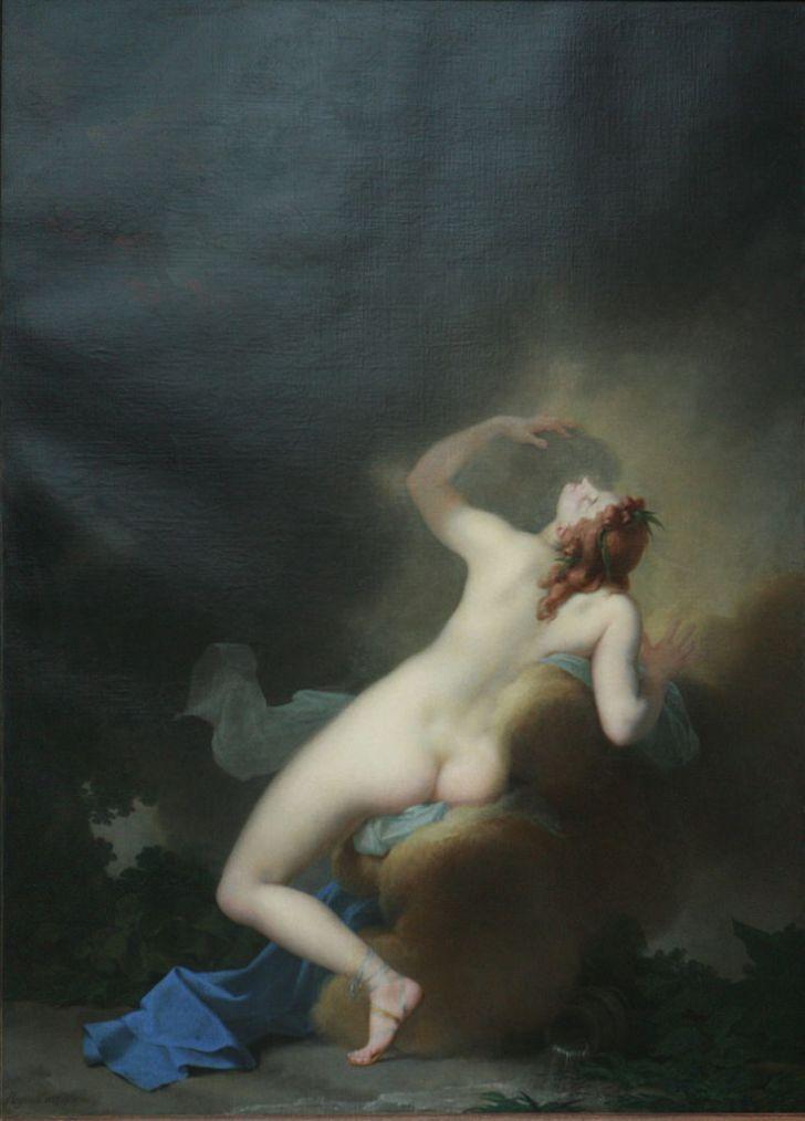 Δίας και Ιώ - Jean-Baptiste Regnault