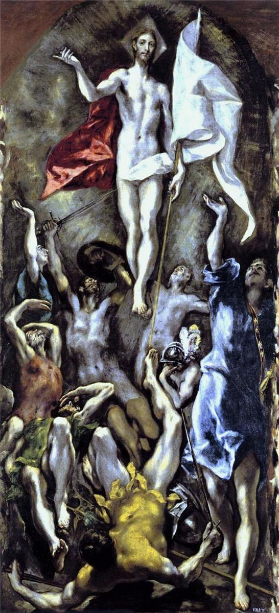 η ανάσταση El Greco 1595