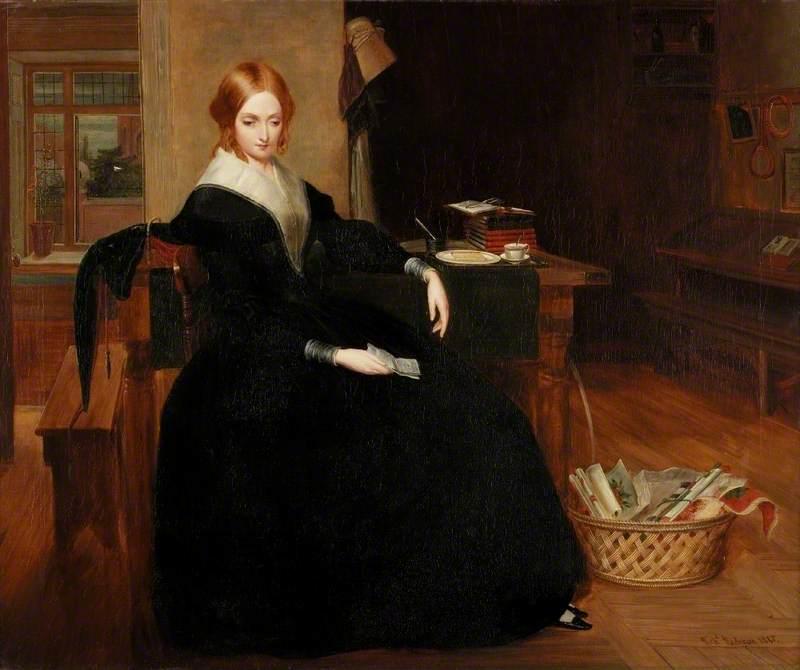 Η φτωχή δασκάλα -Richard Redgrave - 1845