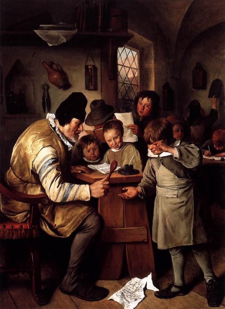Ο δάσκαλος - Jan Steen - 1663