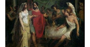 """""""Ο γάμος του Μεγάλου Αλεξάνδρου και της Ρωξάνης"""" από τονPierre-Narcisse Guerin1810"""