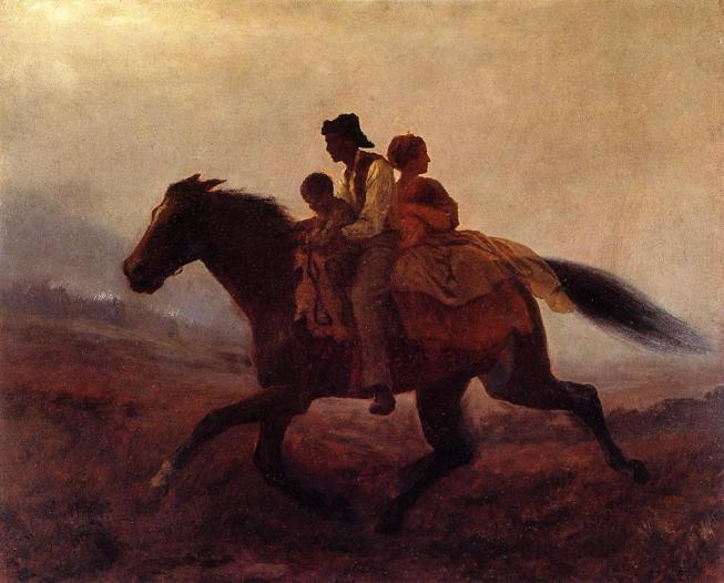 καλπασμός στην ελευθερία - Δούλοι φυγάδες -Eastman Johnson - 1862