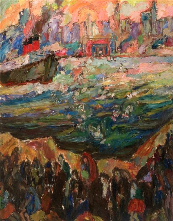 πρόσφυγες - Abraham A. Manievich - circa 1936