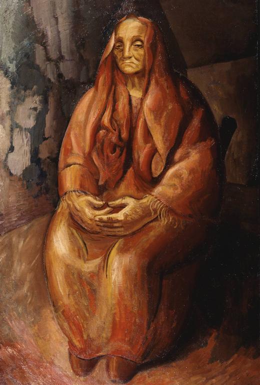 Η Ember (μετανάστρια από την Ιταλία) Leon Underwood 1926