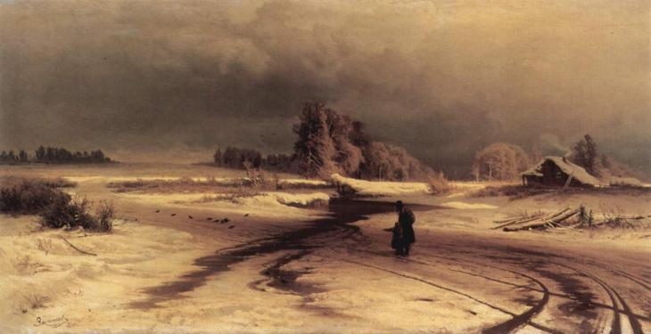 το ξεπάγωμα -Fyodor Vasilyev