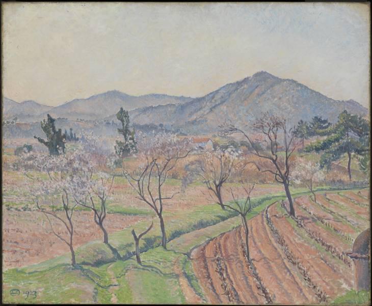 Αμυγδαλιές στο Le Lavandou -Lucien Pissarro