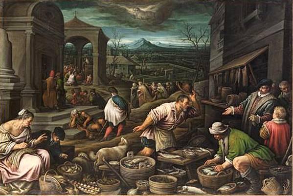Μάρτιος - Leandro Bassano - περίπου 1595-1600