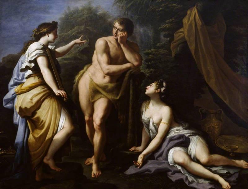 de' Matteis, Paolo, 1662-1728; The Choice of Hercules