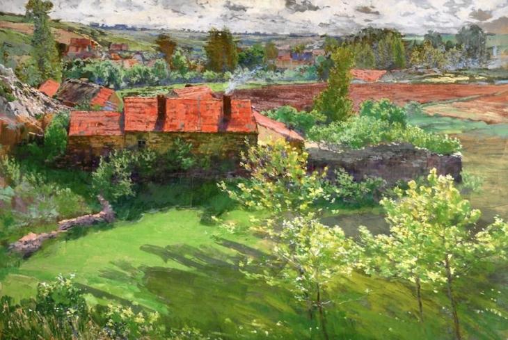 Μια μέρα του Ιούνη Antonín Slavícek - 1898-1899