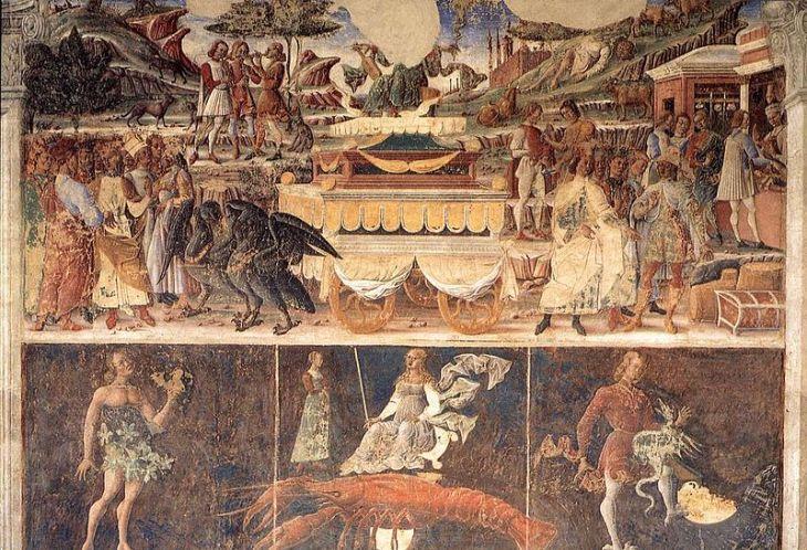 Αλληγορία του Ιουνίου: Θρίαμβος του Ελέους -Cosme Tura - 1476-1480