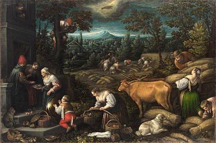 Ιούνιος - Leandro Bassano - 1595-1600