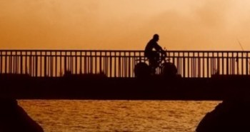 bicycling-sunset-2