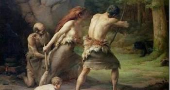 prehistoric_man_hunting_bears