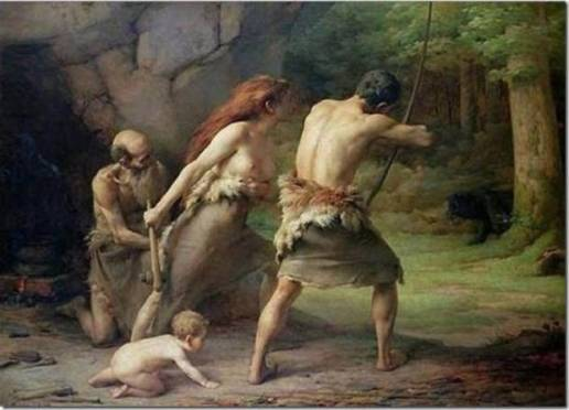 prehistoric_man_hunting_bears