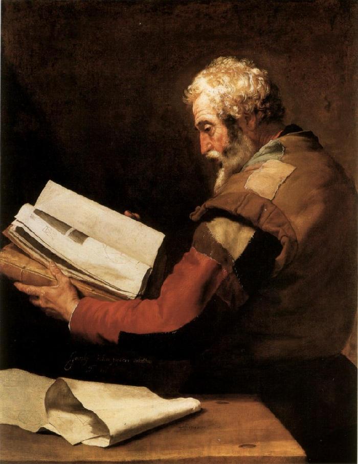 Αναξαγόρας - Χοσέ Ριμπέρα - 1636