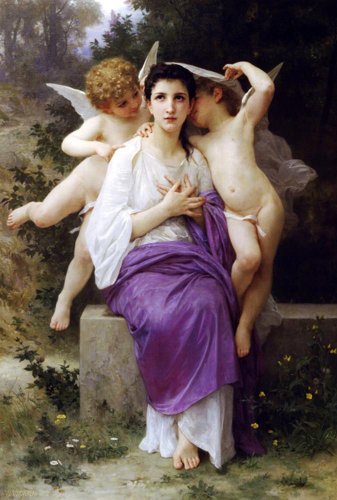 το ξύπνημα της καρδιάς William Bouguereau - 1892
