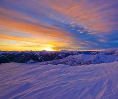 snow-sun