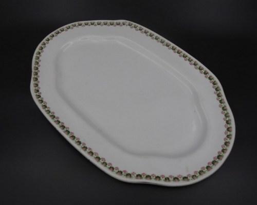 Столовое блюдо Кузнецов Песочное до 1917 года