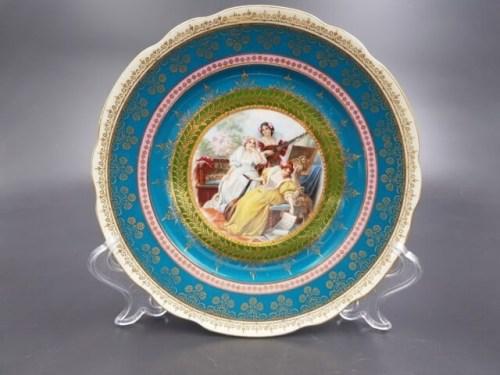 Интерьерные тарелки Кузнецов Дулево до 1917 года