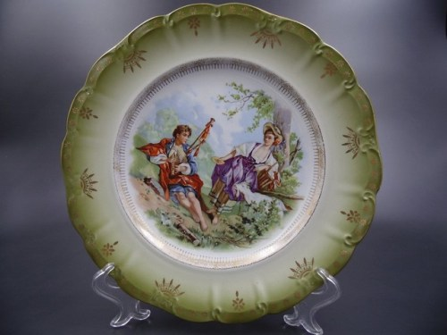 Коллекционная тарелка Кузнецов до 1917 г.