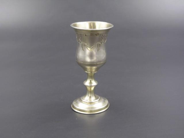 Серебряная стопка 19 век