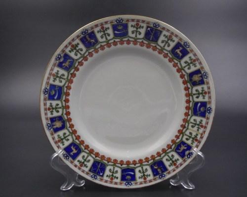 Тарелка Корниловых для Тиффани до 1917 г.