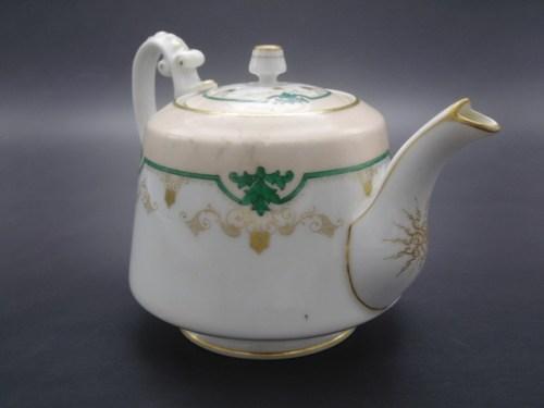 Чайник со старой маркой братьев Корниловых 1861-1884 гг.