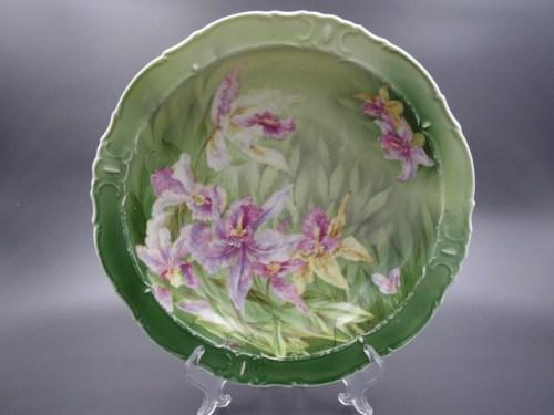 Глубокая тарелка с маркой фабрики Гарднера 1870-1890 гг