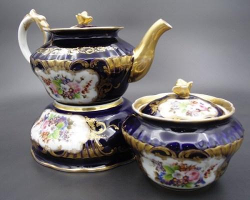 Чайный набор с маркой Гарднера 1840-1860 гг.