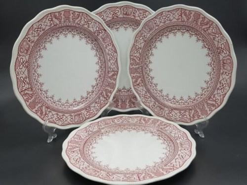 Тарелки с маркой торгового дома I. A. Кумберга до 1904 года