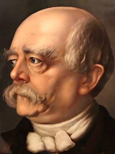 KPM Bildplatte Otto von Bismarck