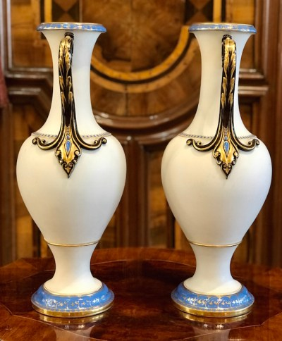 Vasenpaar Meissen Jugendstil